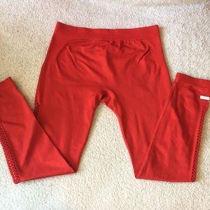 Red Adidas Stella McCartney Leggings